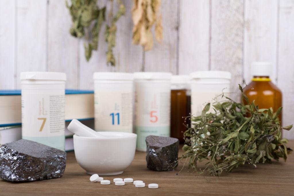 Biochemic tissue salts - Silicea - Schüssler salt or Schussler or Schüßler
